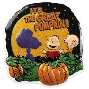Peanuts Gang Great Pumpkin Cake Topper