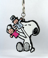 SNOOPY PUPPETS vinyl key chain