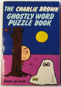 Charlie Brown Ghostly Word Puzzle Book