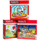 Peanuts Gang 100-Piece Jigsaw Puzzle