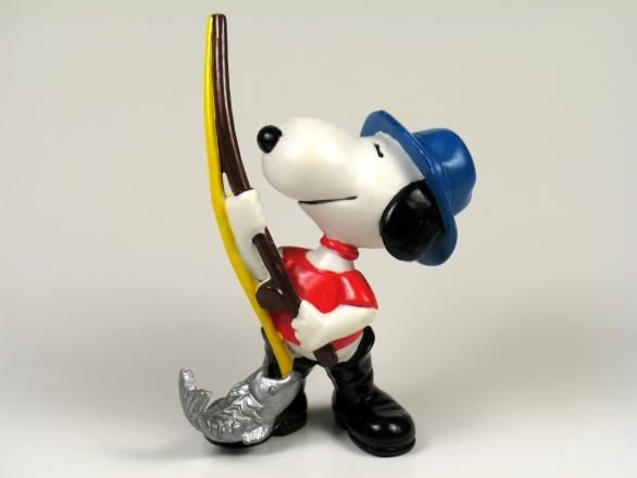 SNOOPY FISHERMAN PVC