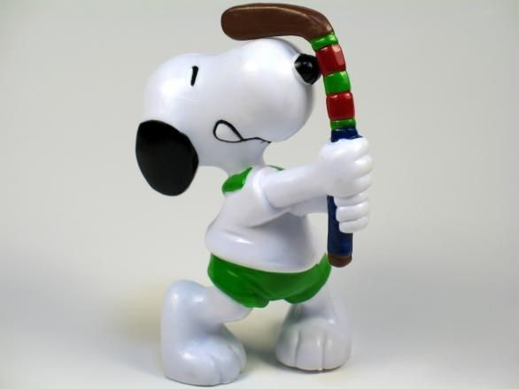 SNOOPY FIELD HOCKEY PVC