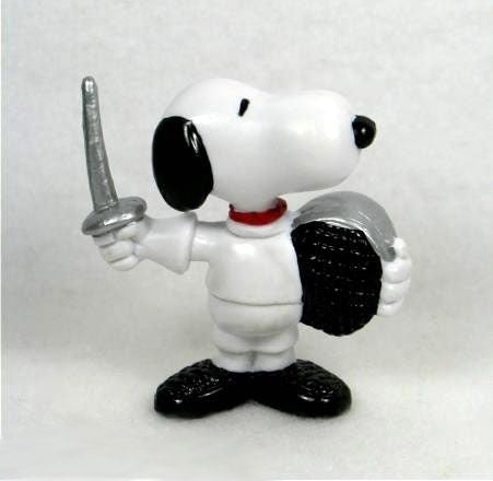 1984 OLYMPICS SNOOPY FENCER PVC (BLACK MASK)