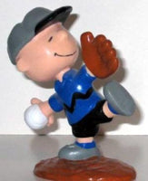 CHARLIE BROWN BASEBALL PLAYER PVC