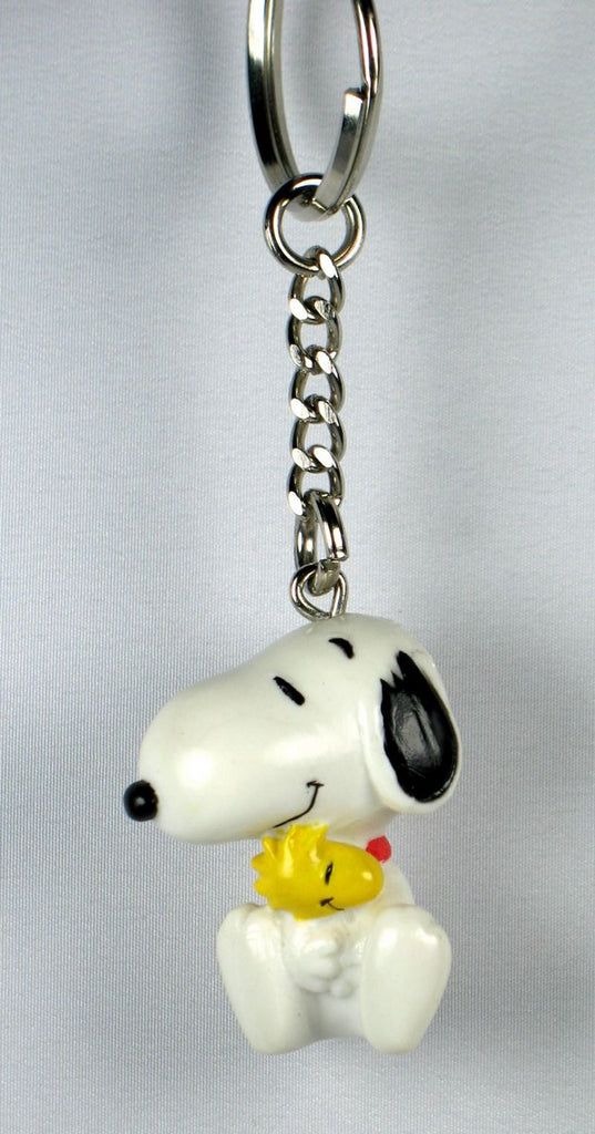 SNOOPY HUGS WOODSTOCK pvc key chain