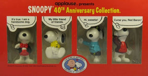40th Anniversary Snoopy PVC Set