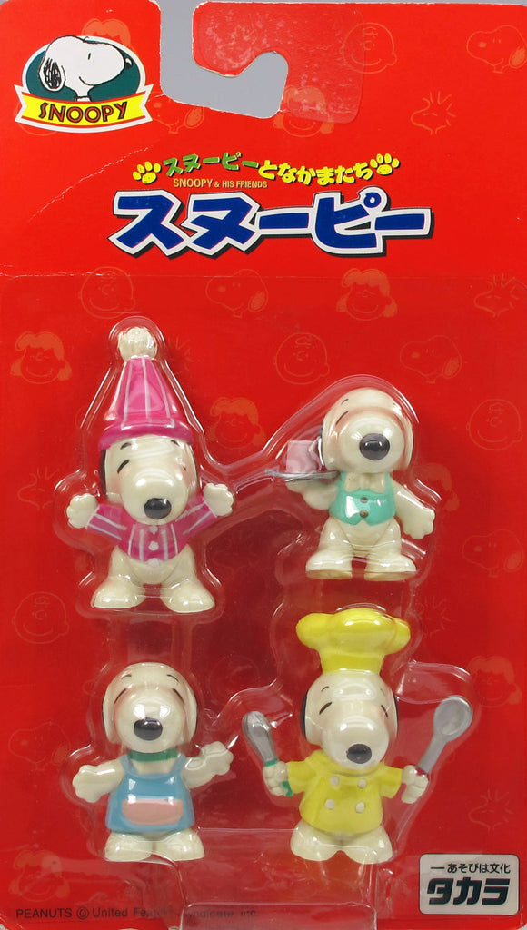 Snoopy and His Friends PVC Set (Jointed Legs)