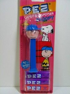 Charlie Brown - blue body PEZ