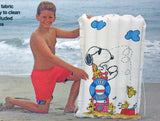 Snoopy Inflatable Fabric Pool Raft (Jr. Size)