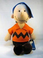 Charlie Brown Fabric-Covered Doll with Acrylic Stand