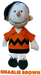 Charlie Brown Fabric-Covered Doll