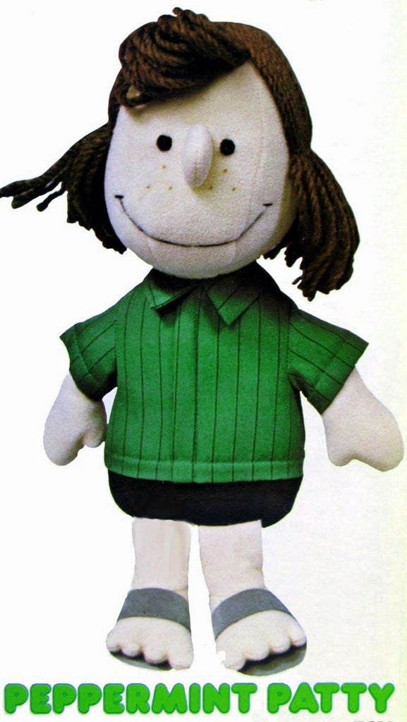 Peppermint Patty Fabric-Covered Doll