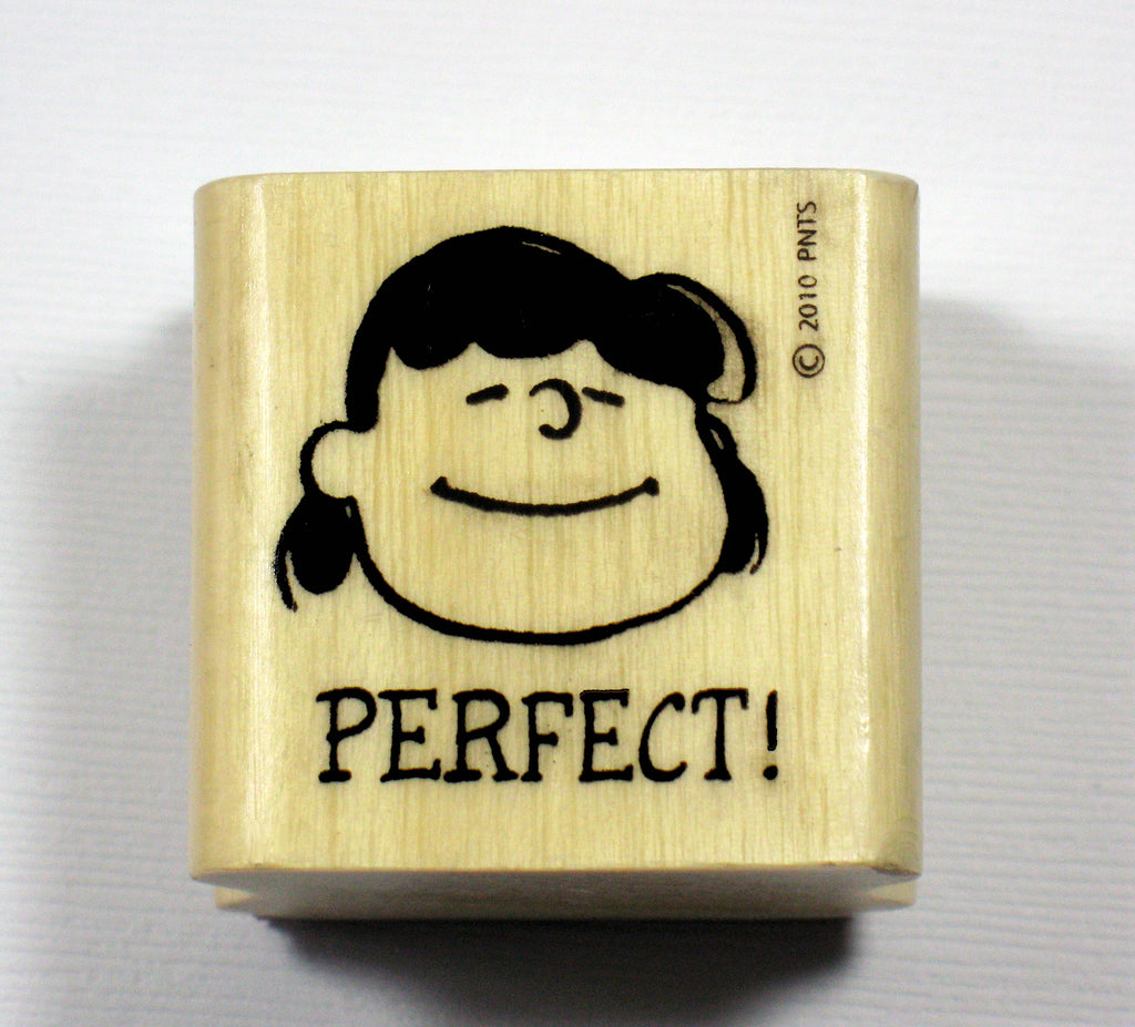 Lucy RUBBER STAMP - Perfect!