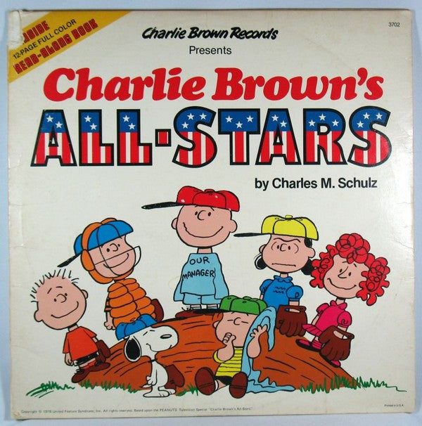 Charlie Brown's All-Stars LP Record With Read-Along Book