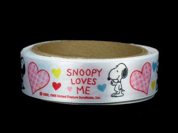 Snoopy Decorative Satin Ribbon (15 Ft. Long!)