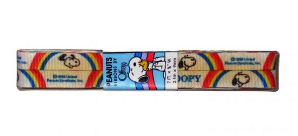 Snoopy Decorative Grosgrain Ribbon
