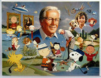 Charles Schulz Tribute Print