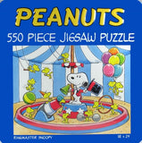 Ringmaster Snoopy Jigsaw Puzzle In Decorative Tin