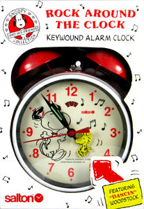 """Rock Around The Clock"" Twin-Bell Alarm Clock"
