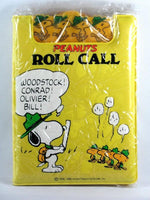 Peanuts Roll Call Clip Board with Note Pad
