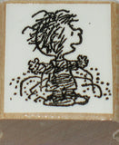 Pig Pen Rubber Stamp (*Re-Mounted Used Stamp)