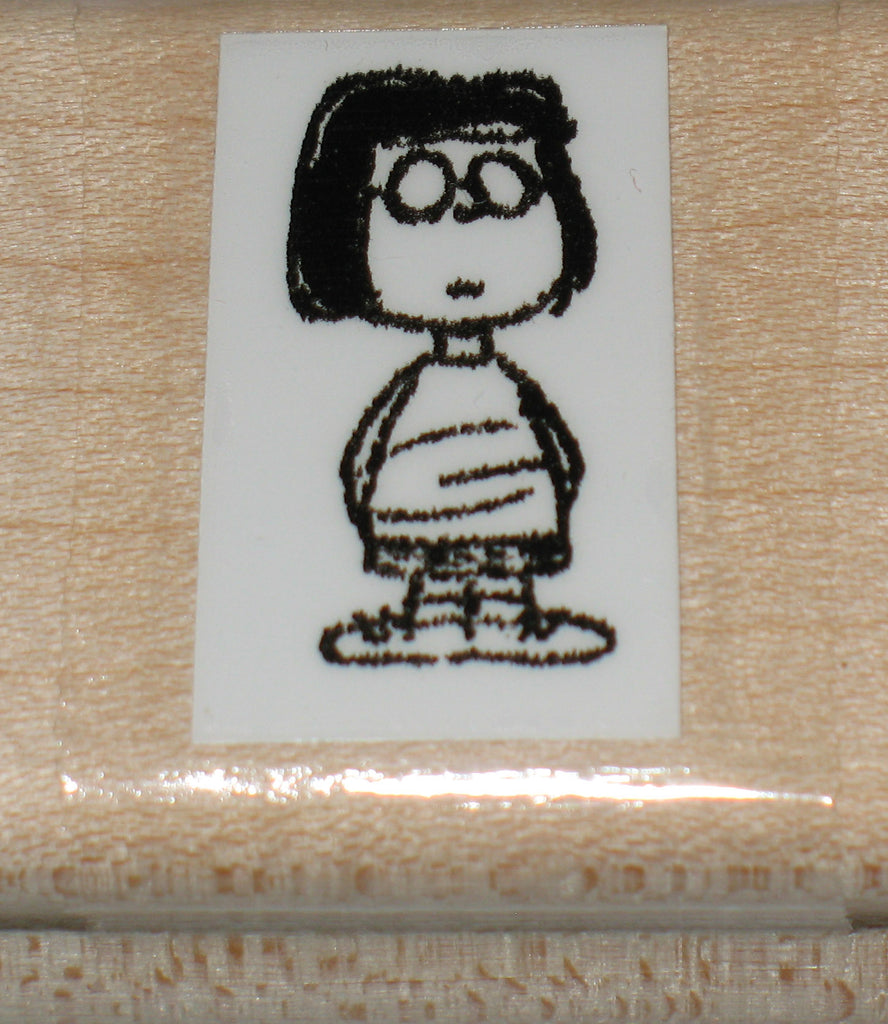 Marcie Rubber Stamp (*Re-Mounted Used Stamp)