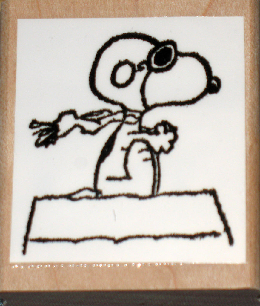 Flying Ace Rubber Stamp (*Re-Mounted Used Stamp)