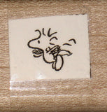 Woodstock Flying Rubber Stamp (*Re-Mounted New Stamp)