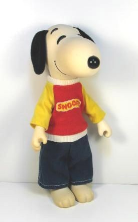 Snoopy Rubber Doll