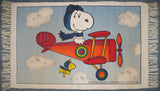 Flying Ace Cotton Rug