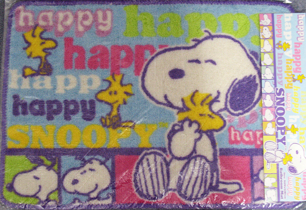 Happy Snoopy Rug / Bathroom Mat