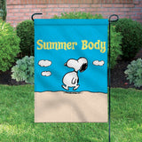 Peanuts Double-Sided Flag - Summer Body