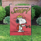 Peanuts Double-Sided Flag - Snoopy Beaglescout Fantastique (French: Fantastic)