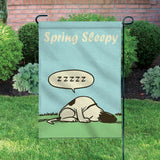 Peanuts Double-Sided Flag - Spring Sleepy