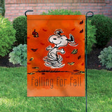 Peanuts Double-Sided Flag - Falling For Fall