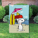 Peanuts Double-Sided Flag - At The Beach