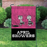 Peanuts Double-Sided Flag - April Showers