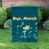 Peanuts Double-Sided Flag - Woodstock Bye, March