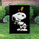 Peanuts Double-Sided Flag - Snoopy San Francisco Giants Baseball