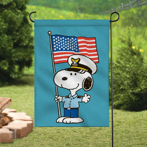 Peanuts Double-Sided Flag - Snoopy Air Force
