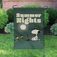 Peanuts Double-Sided Flag - Beaglescouts Summer Nights