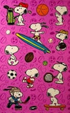 Snoopy Sports Stickers