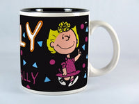 Personalized Black Mug - Sally