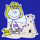 Peanuts Double-Sided Wall Decor - Sally Making Sand Castle