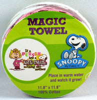Magic Expandable Wash Cloth - Sally and A Nice Smile