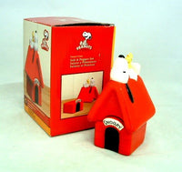 Snoopy's Doghouse Salt and Pepper Shakers
