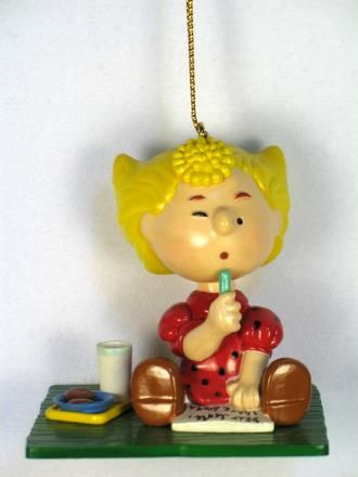 Danbury Mint Christmas Ornament - Sally