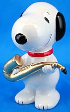 SNOOPY SAXOPHONE PLAYER Bank