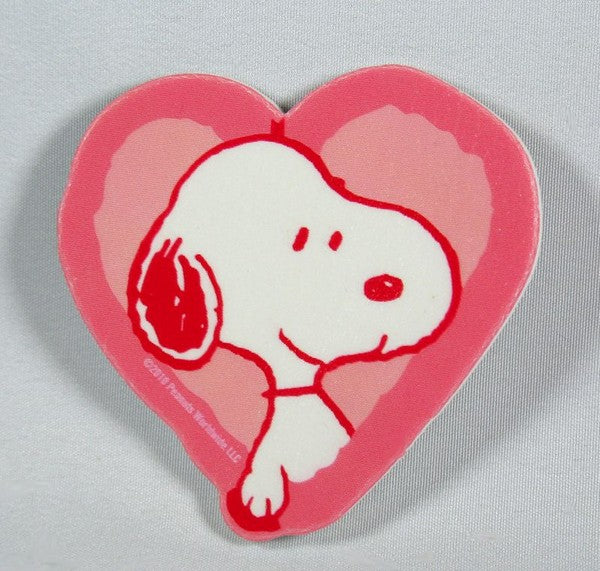 Snoopy Heart Scrapbooking Embellishment
