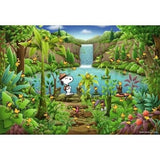 Apollo-Sha 2-Dimensional (2D) Jigsaw Puzzle - Snoopy Forest - RARE!